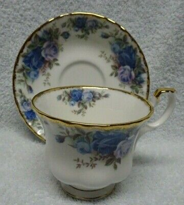 Royal Albert Moonlight Rose Cup and Saucer  Moonlight Rose Cup