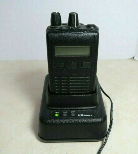 US Alert USAlert Watchdog VHF Voice Pager 151-159 MHz with Charger
