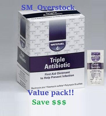 Waterjel Triple Antibiotic First Aid Ointment, Variety Packs FREE SHIPPING