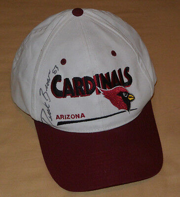 DEREK BROWN Autograph HAT Cap AUTO/Signed 1999 Tight End ARIZONA CARDINALS #83