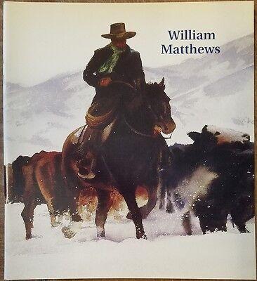 The Artistry of William Matthews