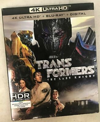 Transformers: The Last Knight 4K and Blu Ray