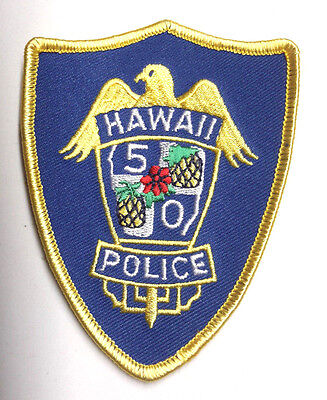 "Hawaii 5-O TV Series  4"" Embroidered Patch- FREE S&H (EBPA-H5O)"
