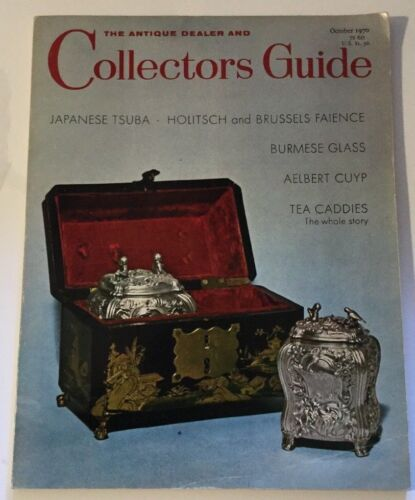 Vtg October 1970 Collectors Guide Japanese Tsuba Burmese Glass Aelert Cuyp