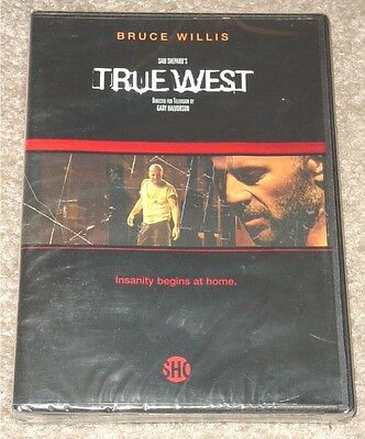 True West W  Bruce Willis  Rare Dvd  David Mamet  Sam Shepard  2003  Mint Sealed