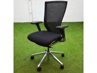 Techo Sidiz T50 mesh back operator chair