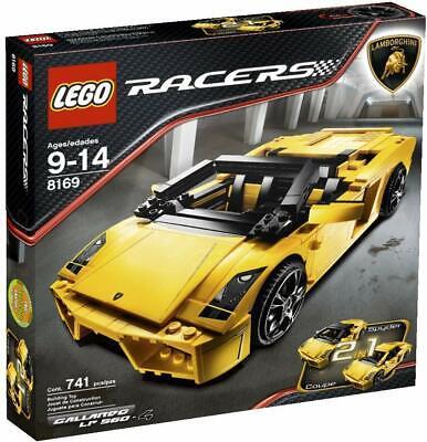 Lego 8169 Racers Lamborghini Gallardo LP 560-4 - Brand New Factory Sealed