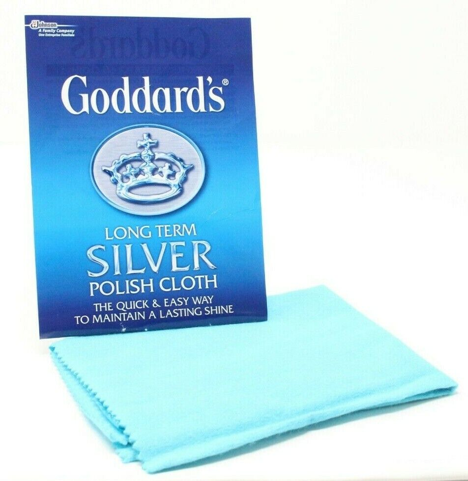 Jewellery - Goddard's Long Term Silver Jewellery Polish Cleaning Cloth