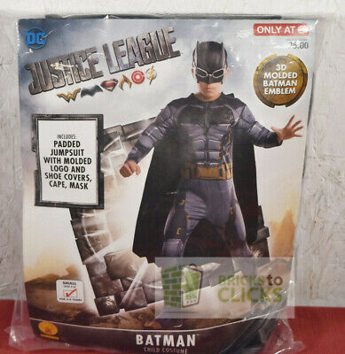 Halloween Costumes Dress-up Justice League Batman Child Small 4-6](Small Halloween Costumes)