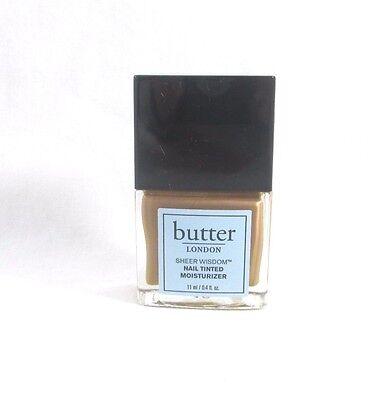 Butter London Sheer Wisdom Nail Tinted Moisturizer ~ Tan ~ 0.4 oz