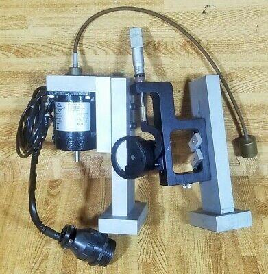 Aerotech 65smw Stepper Motor Laser Optical Mount Starrett Optics Positioner