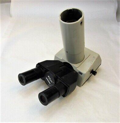 Nikon Microscope Trinocular Head W H.k.w. 10x Eyepieces