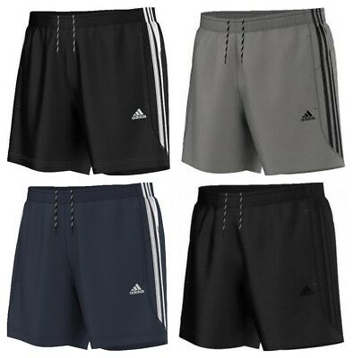 Adidas Gym Shorts (Adidas Essentials Chelsea Mens Shorts 3 Stripes Climalite Sports Gym Running)