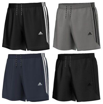 Adidas Essentials Chelsea Mens Shorts 3 Stripes Climalite Sports Gym Running