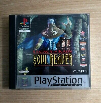 Legacy Of Kain Soul Reaver COMPLETE Sony PlayStation 1 PS1 Game FREE P&P