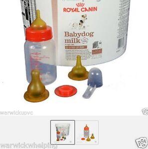 royal canin 2kg baby dog puppy milk kit feeding bottle set free pen ebay. Black Bedroom Furniture Sets. Home Design Ideas