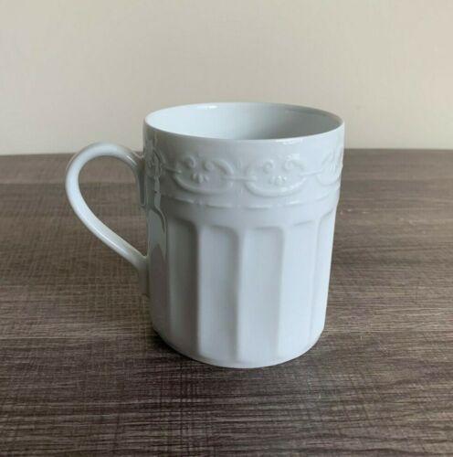 "WATERFORD GRAFTON STREET 3.5"" White Porcelain Mug - France - EUC"