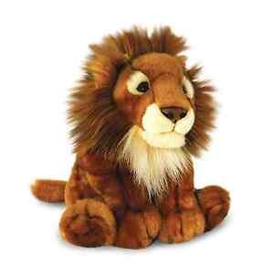 Keel Toys Wild - 30cm African Lion Cuddly Soft Toy Plush /Teddy SW3615