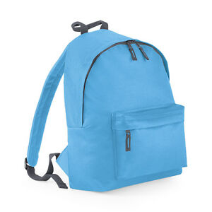 Bagbase Fashion Backpack Rucksack in 20 Colours Cycling Bag Trendy Messenger