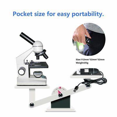 Usb Digital Microscope 500x1000x Endoscope Zoom Camera Magnifier With 8 Kw