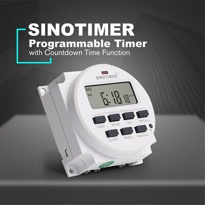 Sinotimer Tm618n-4 12v Programmable Timer Switch With Countdown Time Function Nd