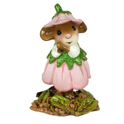 Wee Forest Folk   April Flower Mouse Of The Month M 640D
