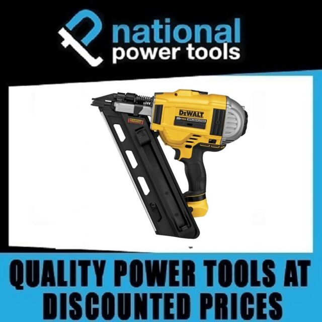 USED / FAULTY DEWALT CORDLESS FRAMING NAILER DCN690 AND HARD CASE