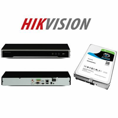 Hikvision Nvr Recorder Ds-7608ni-k2 Non-poe Model Hdd