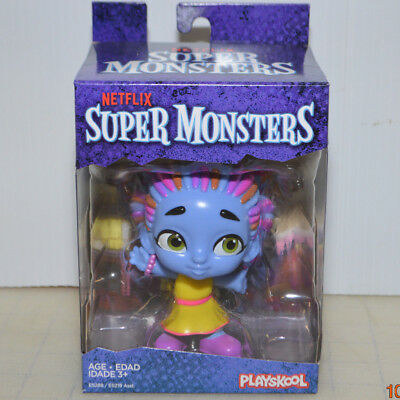 Super Monsters Cartoon *ZOE WALKER* Girl Zombie Figure Netflix 2018 Halloween