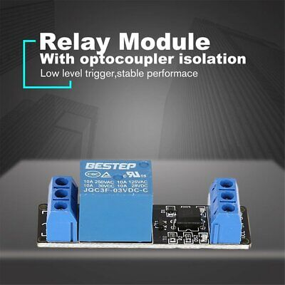 3v 1 Way Relay Module Interface Board Low Level Trigger Optocoupler Arduino Kw