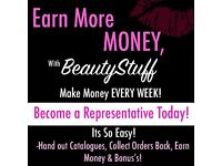 EARN MONEY SELLING BRAND COSMETICS! EASY & NO SIGN UP FEE.