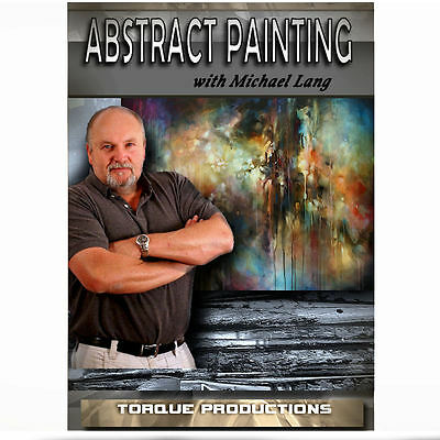 Michael Art Supply ( Art Instruction DVD '' Abstract Painting '' Michael Lang How To )