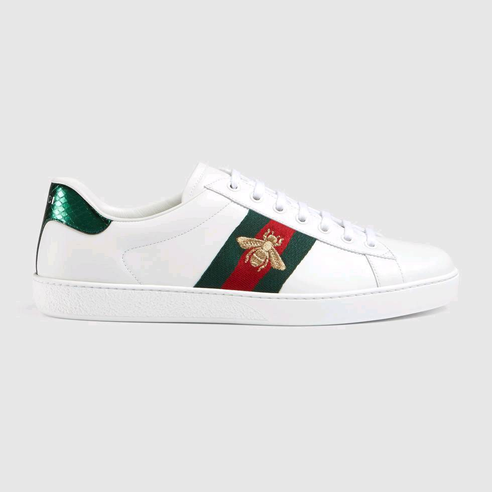 Mens Gucci Beesnaketiger Embroidery Trainers