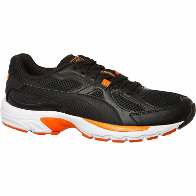 Puma Axis Plus 90s Adults Trainers Black Orange Running Shoes UK 4.5 EUR 37.5