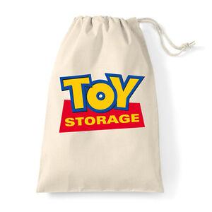 Laundry Sack Cotton Canvas Toy Storage Bag Story Extra