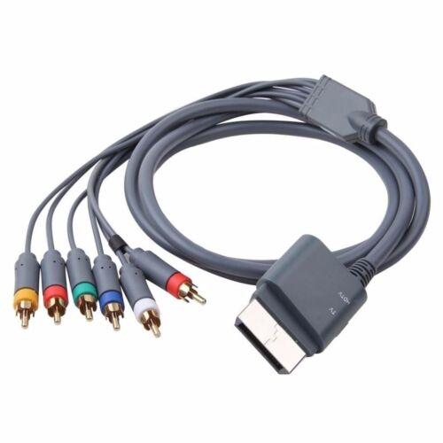 HD TV Component Composite Audio Video AV Cable Cord for Microsoft Xbox 360