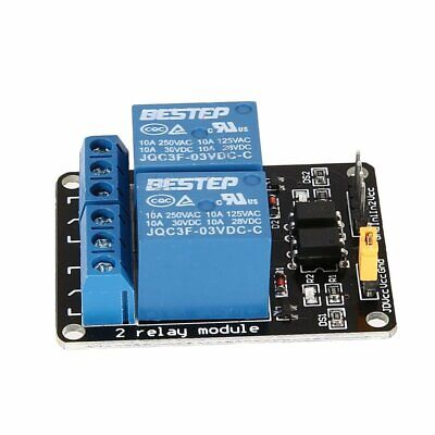 3v 2 Way Relay Module Interface Board Low Level Trigger Optocoupler Arduino Nd
