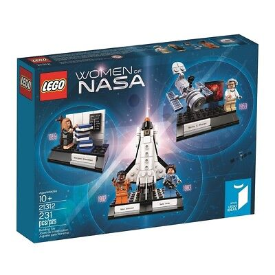 Lego Ideas 21312 Women Of Nasa   231 Pieces   In Hand   Brand New Factory Sealed