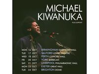Michael Kiwanuka Fantastic Seats for York Barbican Friday 20 October