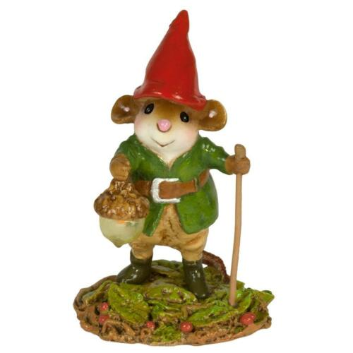 Wee Forest Folk ROAMING GNOME, WFF# M-645, Woodland Mouse