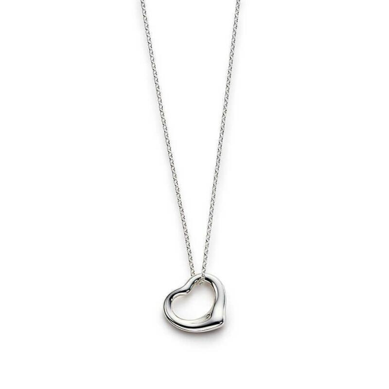 Bhp Tiffany Open Heart Pendant Tiffany Charms For Sale