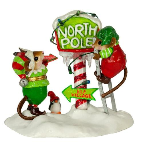 Wee Forest Folk Christmas M-550a North Pole Elves