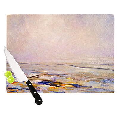 Kess InHouse * HAZY SUNRISE * Cutting Board Art Glass 11.5 by 15.75-Inch NIB