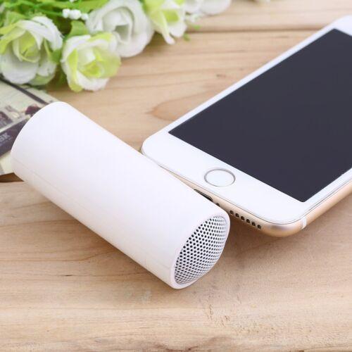 Mini White 3.5mm Pillow Speaker For iPhone iPod CD Radio MP3 Player  TW