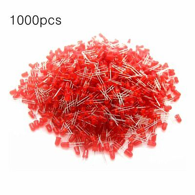 1000pcs 5mm Round Led Light Emitting Diodes Component Led Bulb Light Nd