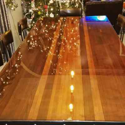 Crystal Clear Bar Table Top Epoxy Resin Coating For Wood Tabletop – 1 Gallon Kit Adhesives, Sealants & Tapes