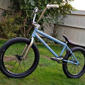 One of a kind BMX bike: Volume DeathWish w/ brand new parts. 100% custom. Size - 21""