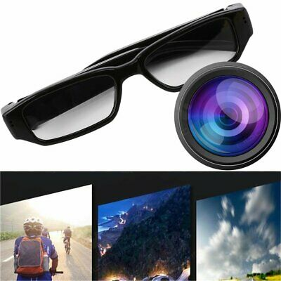 Used, Durable Mini 1080P HD Camera Glasses Eyewear DVR Video Recorder Cam Camcorder KW for sale  Shipping to Nigeria