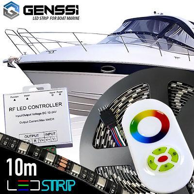 Boat Marine Deck Interior Waterproof Led Strip Kit W  Wireless Remote Control