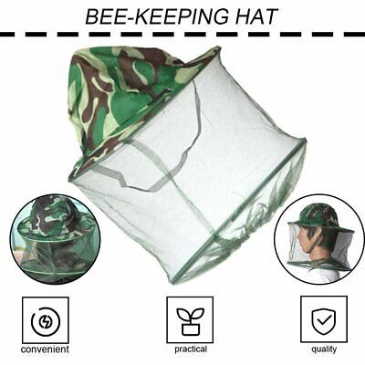 Beekeeping Man Hat Mosquito Bee Insect Net Veil Hat Cap Face Head Protector Kw